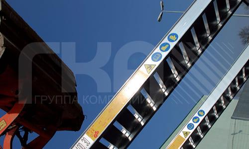Алюминиевые погрузочные рампы