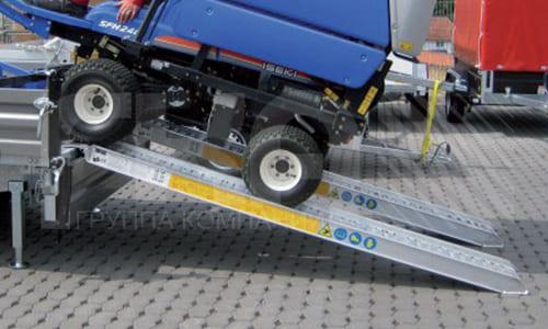 Алюминиевые погрузочные платформы для колесных транспортных средств